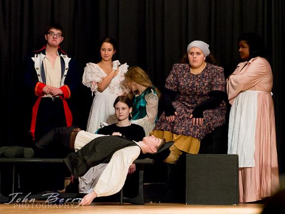 "November/13/13:   MCHS Drama.  ""Beggar's Opera"""