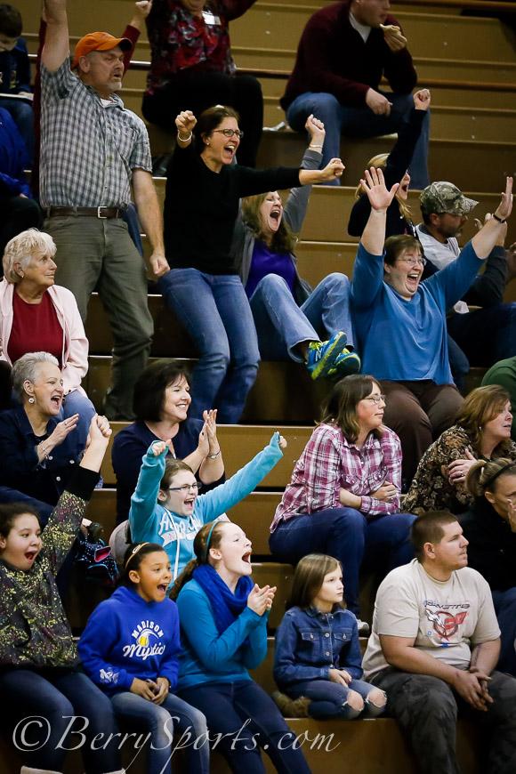 December/5/13:   Wetsel Girls Basketball vs Luray.  Luray wins 16-8