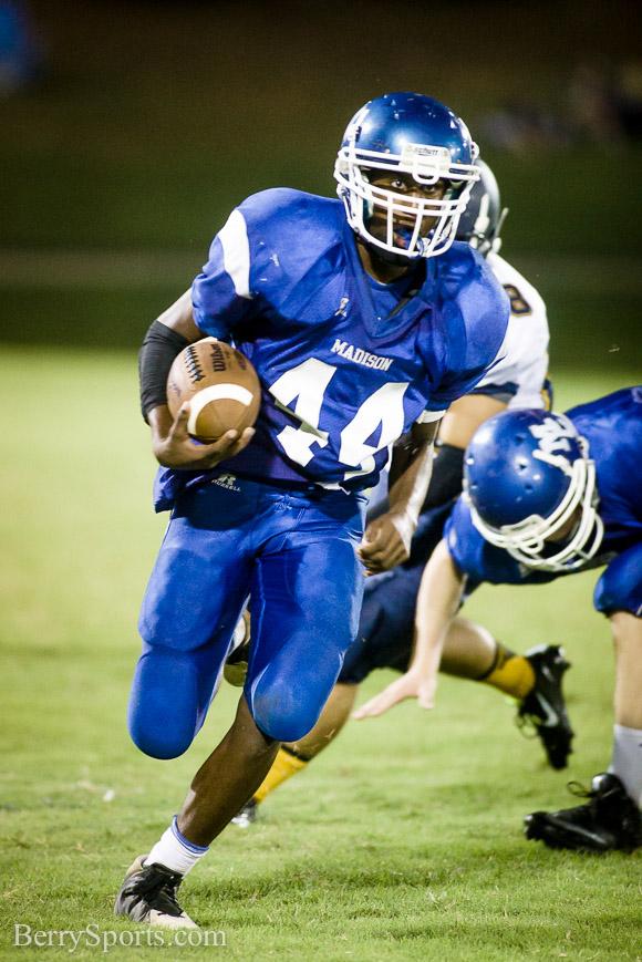 September 10, 2014.  MCHS 9th Grade Football vs Culpeper.