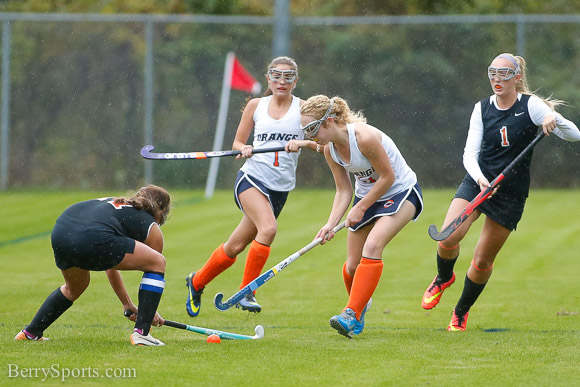 October 21, 2014.  Orange Hornets Field Hockey vs Powhaten.  Senior Night.