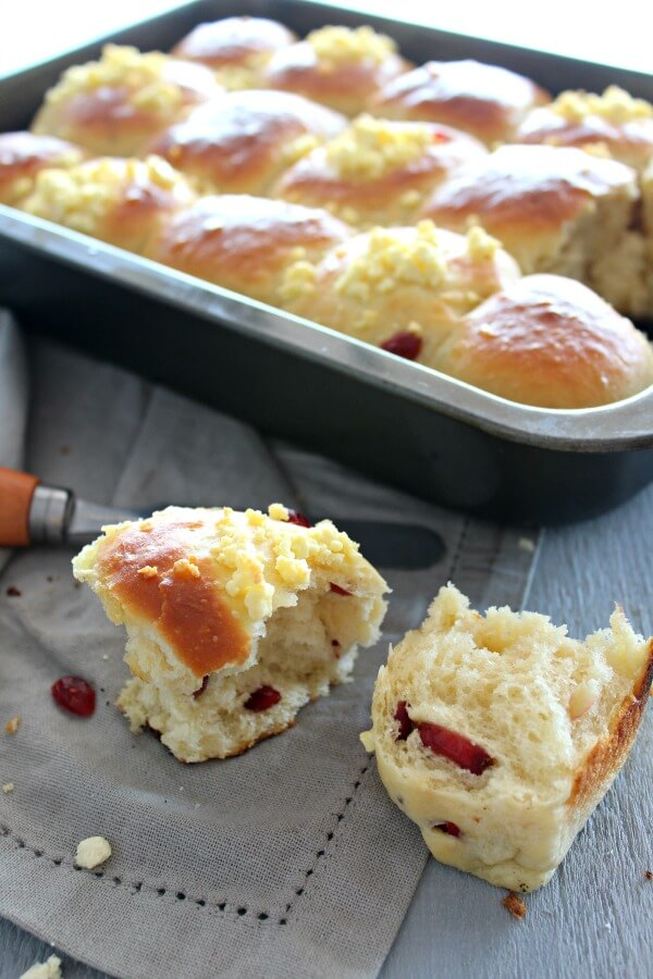 Light & Fluffy Dinner Rolls 2 Ways. An easy recipe for the lightest, fluffiest dinner rolls made 2 ways - cranberry & cheese, and classic. Your family will love these!   www.berrysweetlife.com