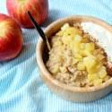 10 Minute Apple Pie Breakfast Oatmeal