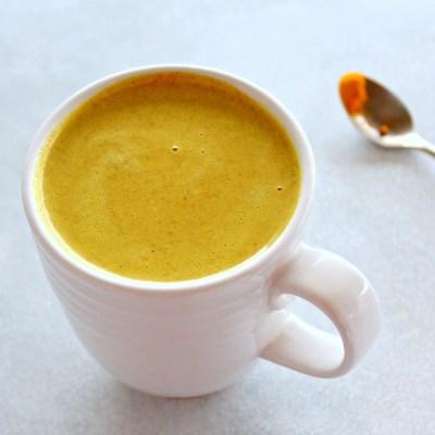 Golden Milk Turmeric Ginger Latte
