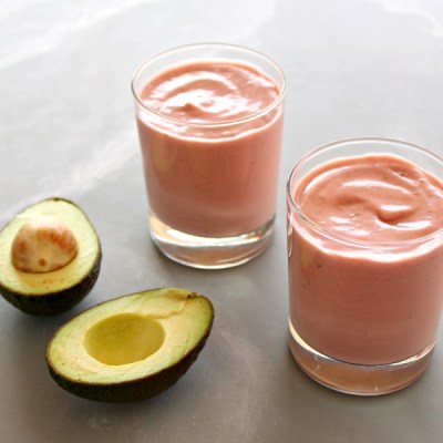 Incredible Strawberry Avocado Smoothie
