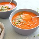 Nutritious Red Pepper Carrot Soup