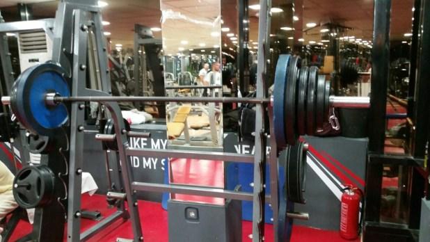 squats 155kg