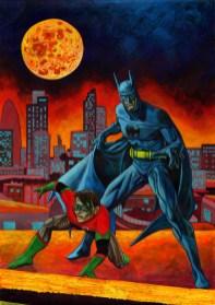batman finish