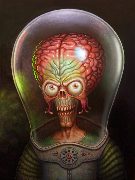 mars attacks by adam brown