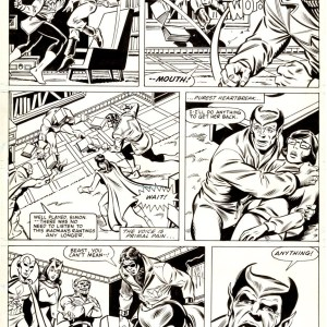 Alan Kupperberg � Avengers 209p11 Comic Art