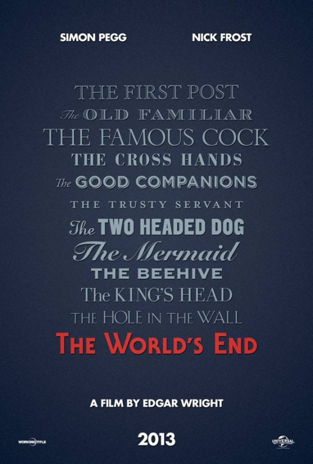 The World's end  -- Teaser Poster