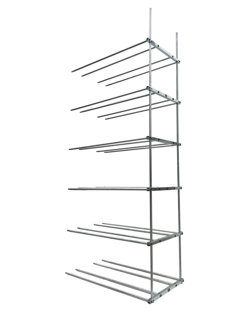 bmt tire rack double 6 levels extension rack