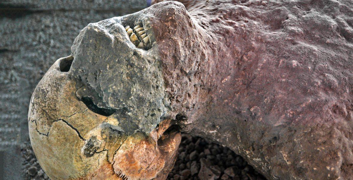 Vesuvius remains