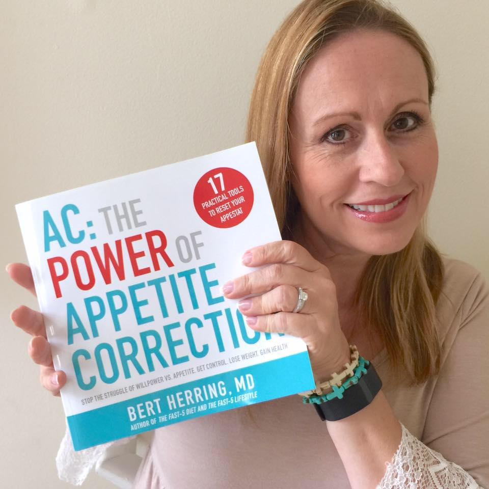 Paula and Dr. Bert's latest book, AC: The Power of Appetite Correction