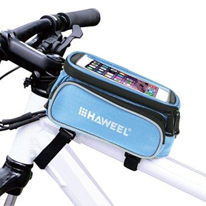borsa da bici con porta Smartphone