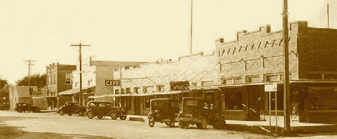 Bertram street scene circa 1930