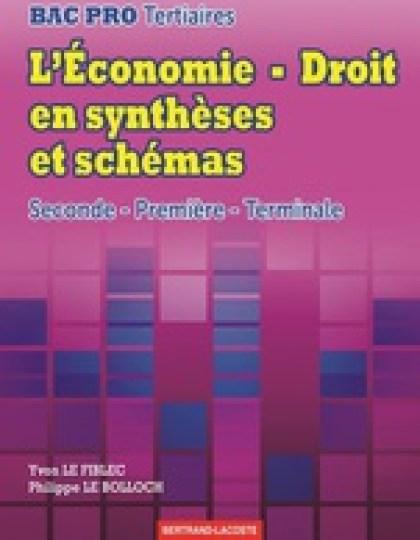 L'Economie Droit en synthèses et schémas