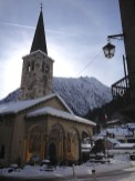 Le charmant village d'Alagna