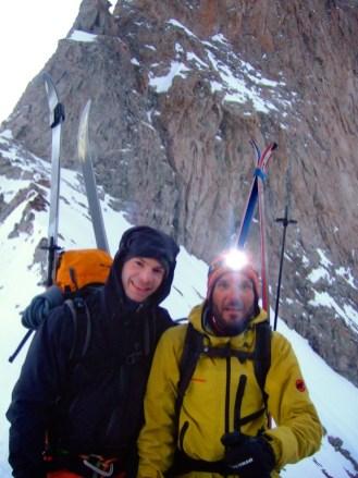 De sympathiques skieurs rencontrés au Promontoire.