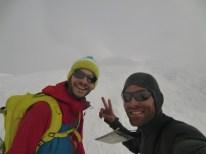 Au sommet du Brudelhorn, jamais nous n'aurions imaginé arriver jusque là !