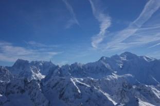 Sommet avec en récompense une vue magique sur le Mont Blanc et son massif