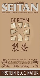 Bertyn Protein Seitan Bloc - Natur: 450g