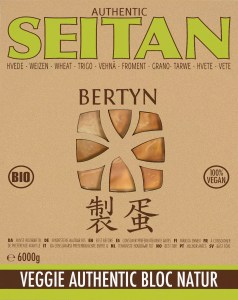 Packshot : Veggie Authentic Seitan Bloc Natur 6000g