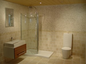 Small Glass Shower