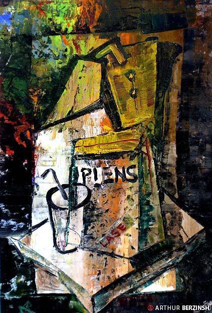Oil Paintings Arthur Berzinsh