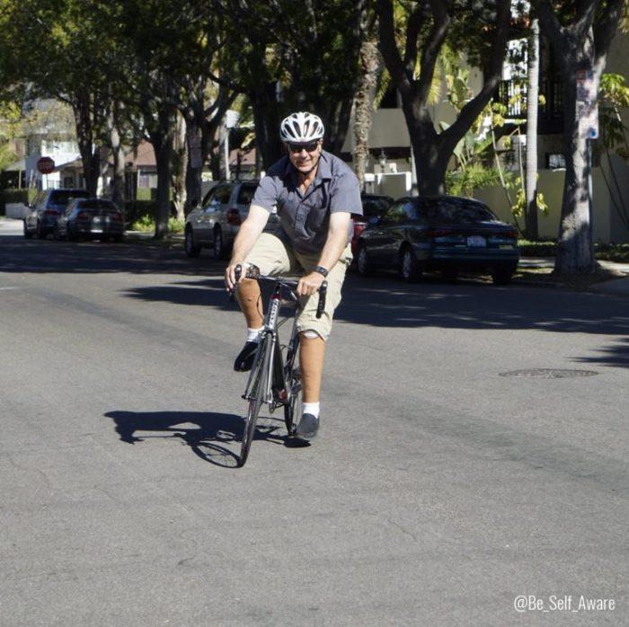 John CA biking