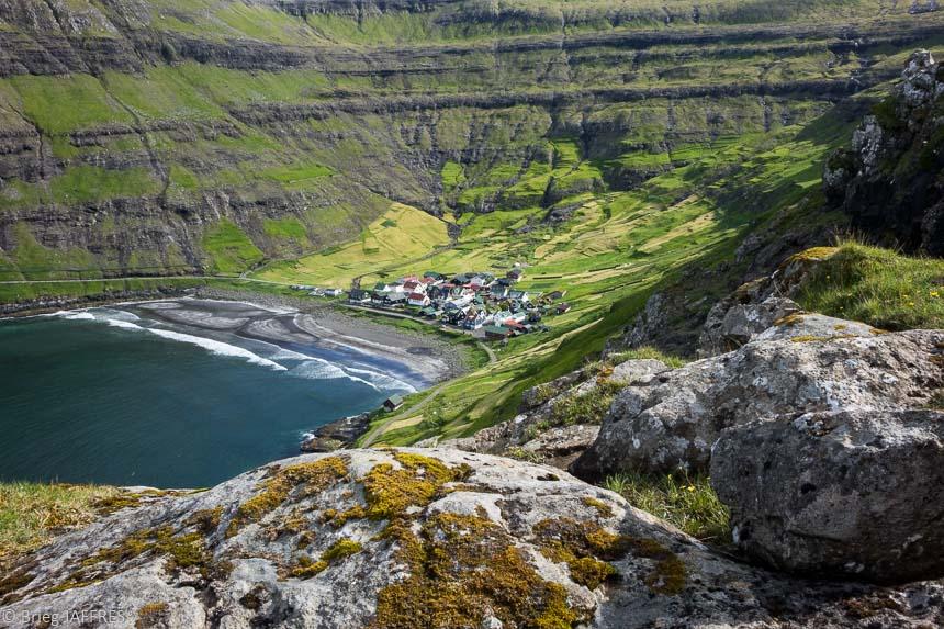 Idée de randonnées féroés Tjonuvik bugurin