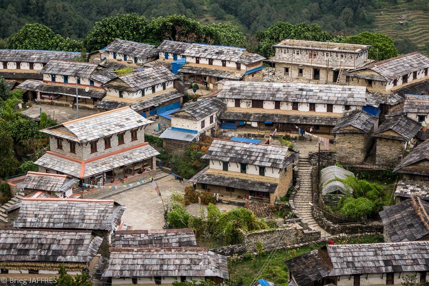 randonnée balcon et sanctuaire des Annapurnas