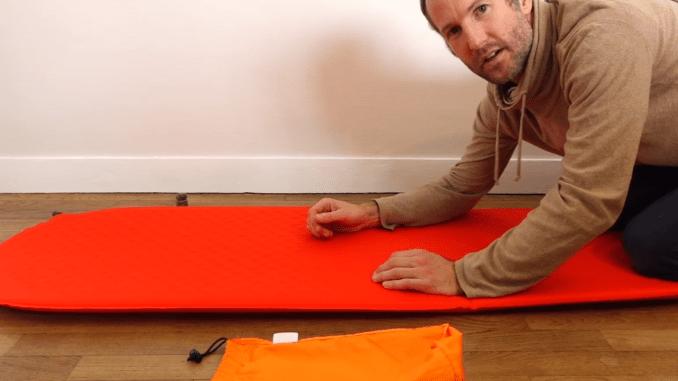 Comment ranger un matelas autogonflant thermarest dans son sac