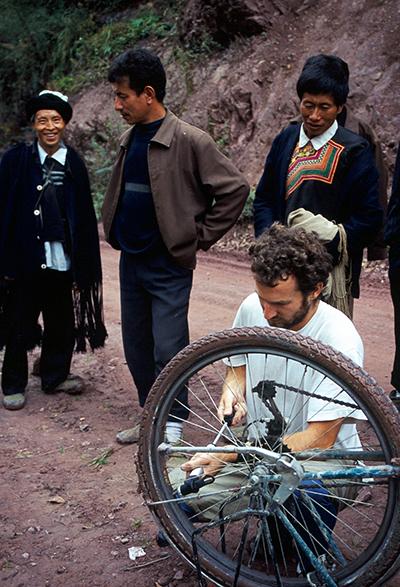 tour du monde à vélo chine