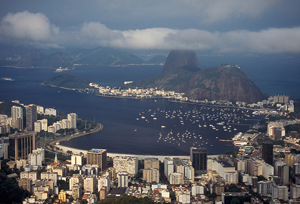 voyage à vélo - Rio