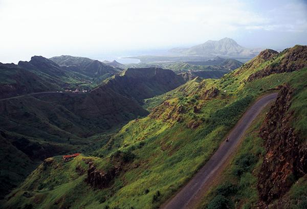 tour du monde à vélo - Cap Vert