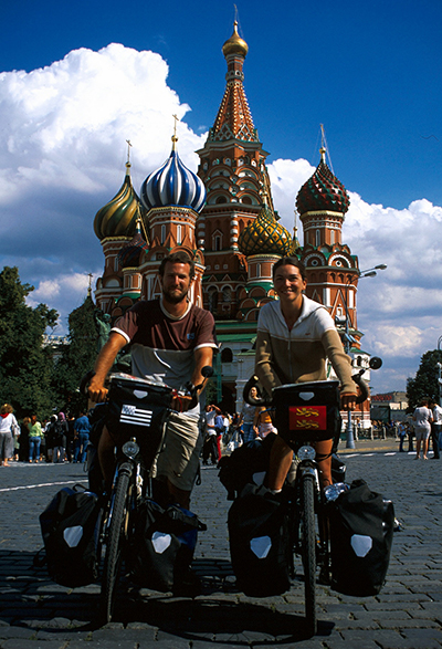 voyage à vélo-France-Moscou