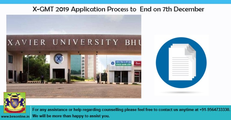 X-GMT 2019 Application Process to End on 7th December