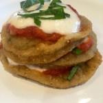 easy baked eggplant parmigiana