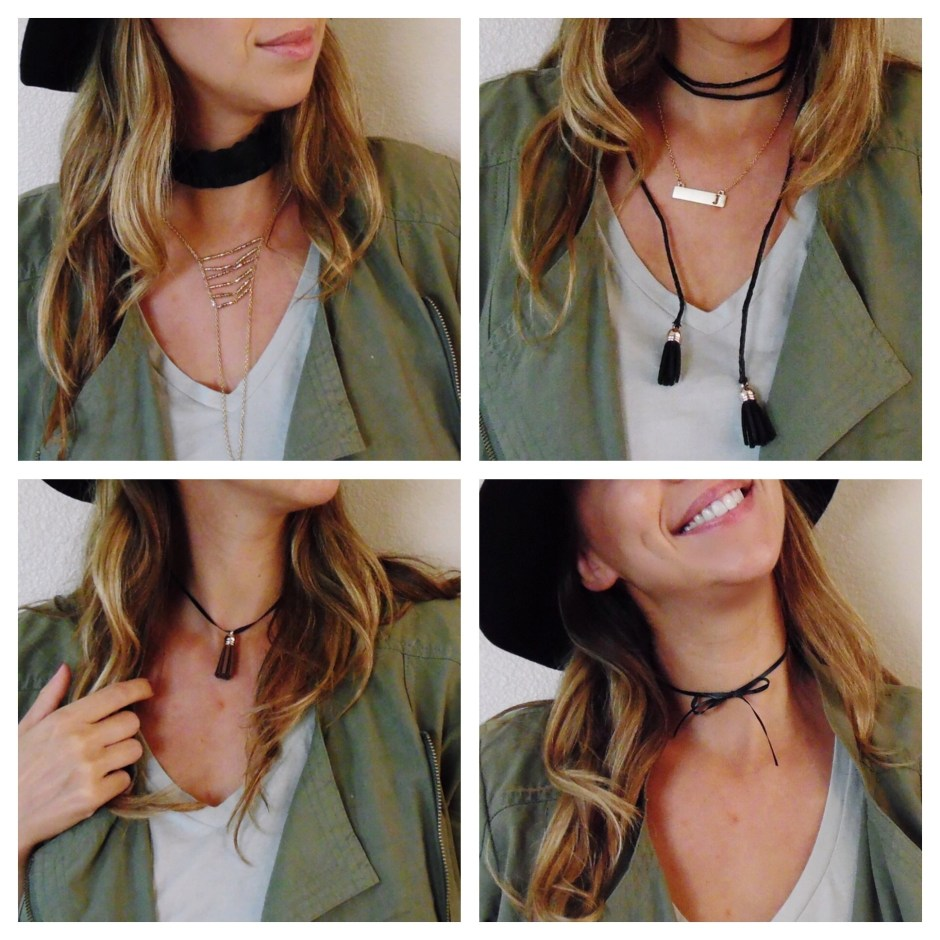 How to make choker necklace