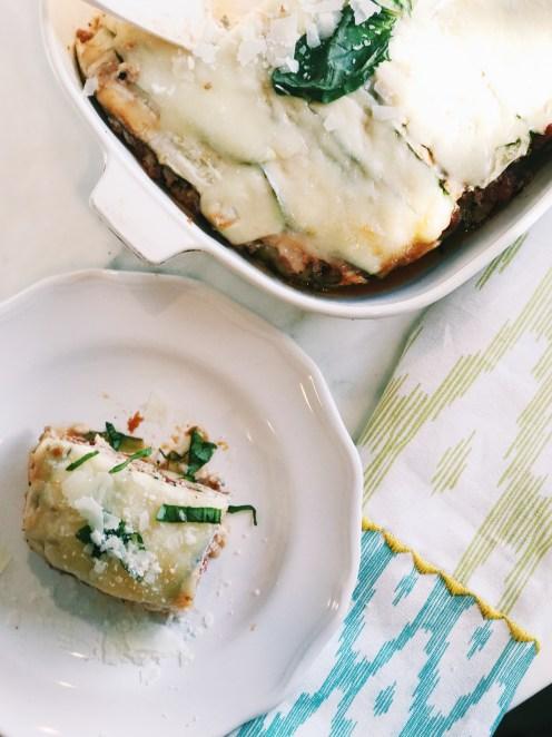 zucchini lasagna with turkey light lasagna recipe