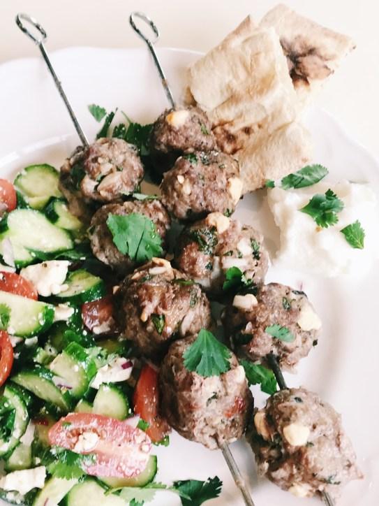 greek style meatlbals