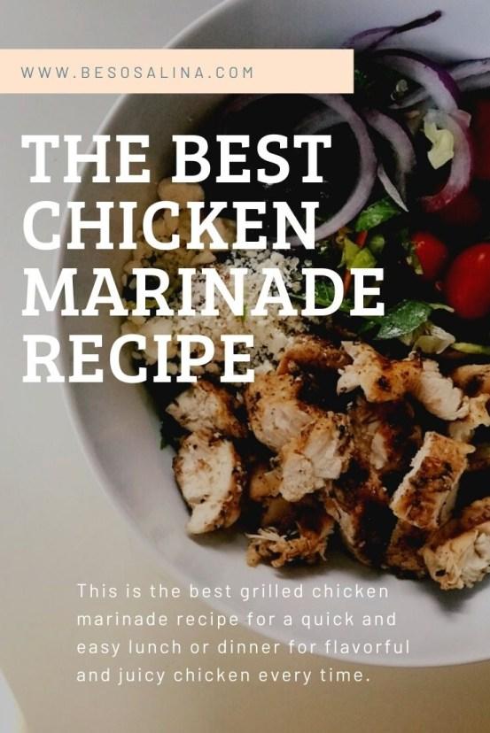 best chicken marinade recipe