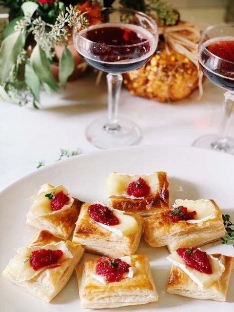 mini brie cheese bites