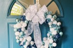 A DIY Ornament Wreath inspired by Frozen