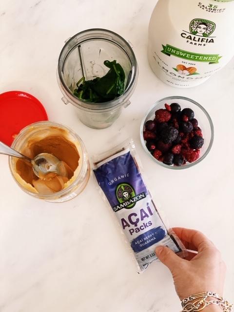 how to make an acai smoothie
