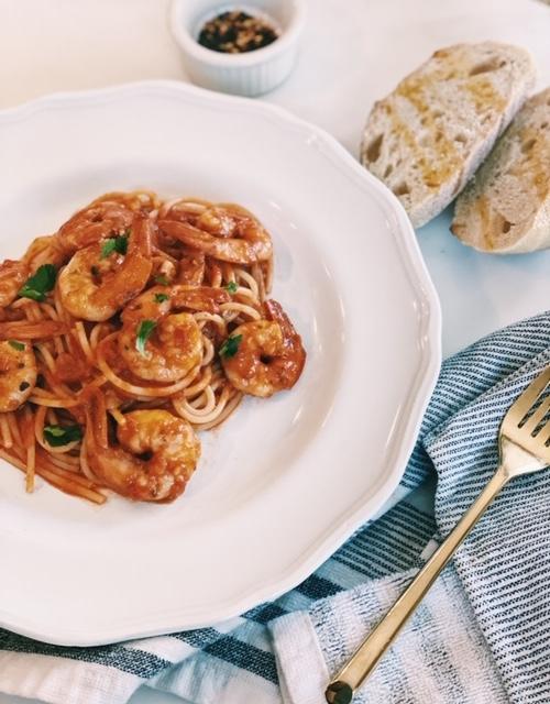 easy shrimp pasta recipe