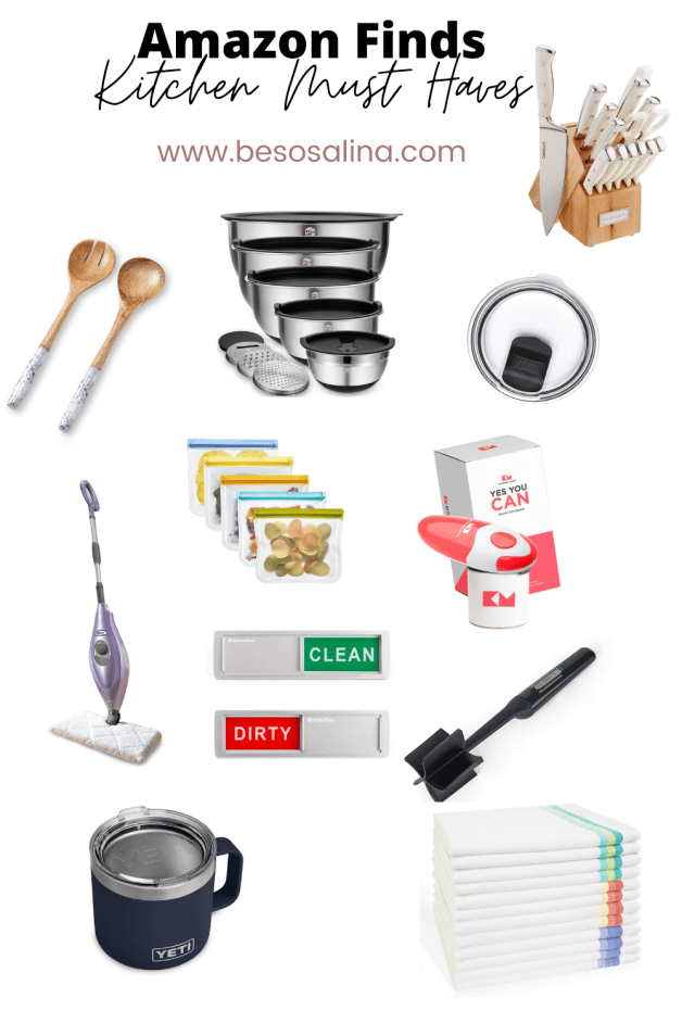 kitchen must haves and kitchen favorites