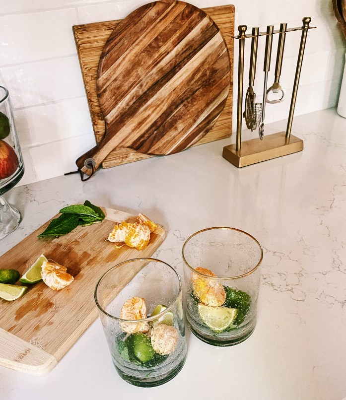 how to make a mojito with fresh lime and tangerine