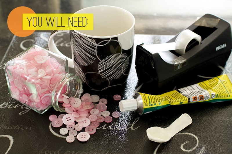 DIY Button Bowl You Will Need