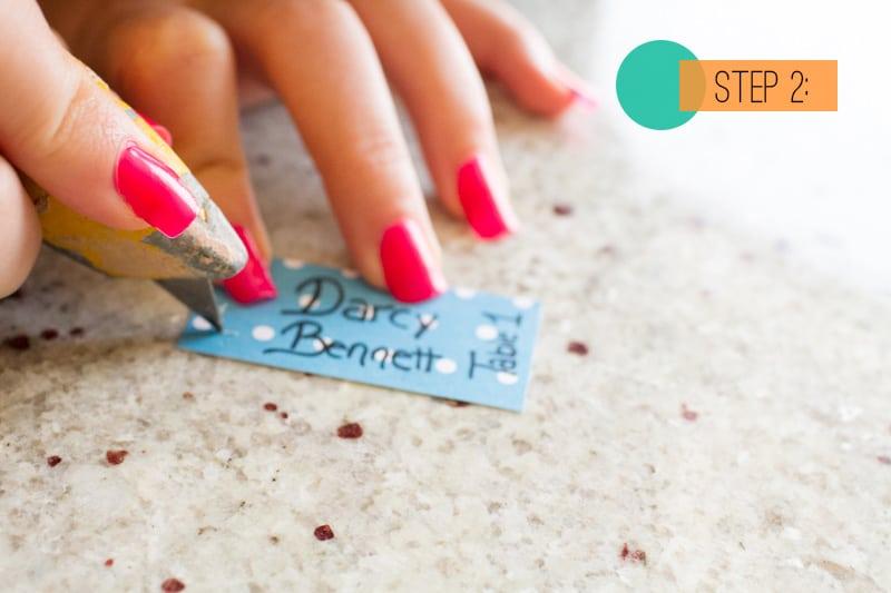 DIY Drink stirrer escort cards2